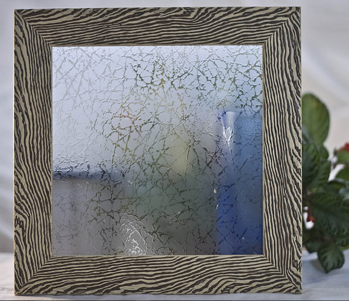 Орнаментно стъкло Вулкан