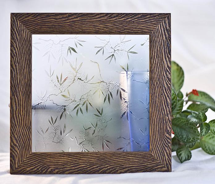 Орнаментно стъкло Маслинова клонка