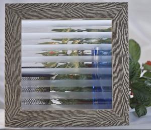 Орнаментно стъкло Флейта мат