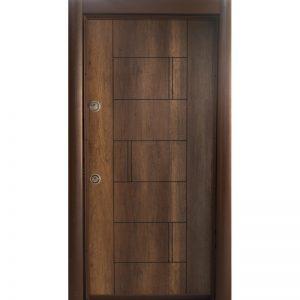 Входна врата-р38златен-дъб