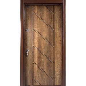 Входна врата-р42-златен-дъб