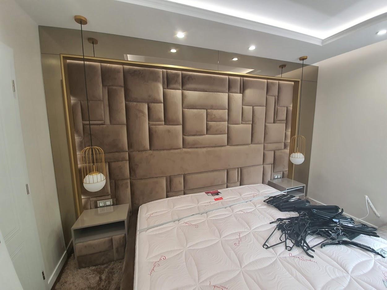 Декоративни елементи - огледало в интериора на спалня