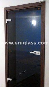 Закалена стъклена врата 18