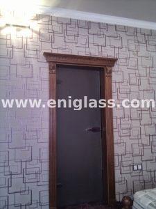 Закалена стъклена врата 4