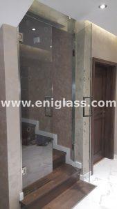 Закалена стъклена врата 9