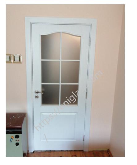 Интериорна врата бяла