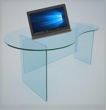 Стъклено бюро 1