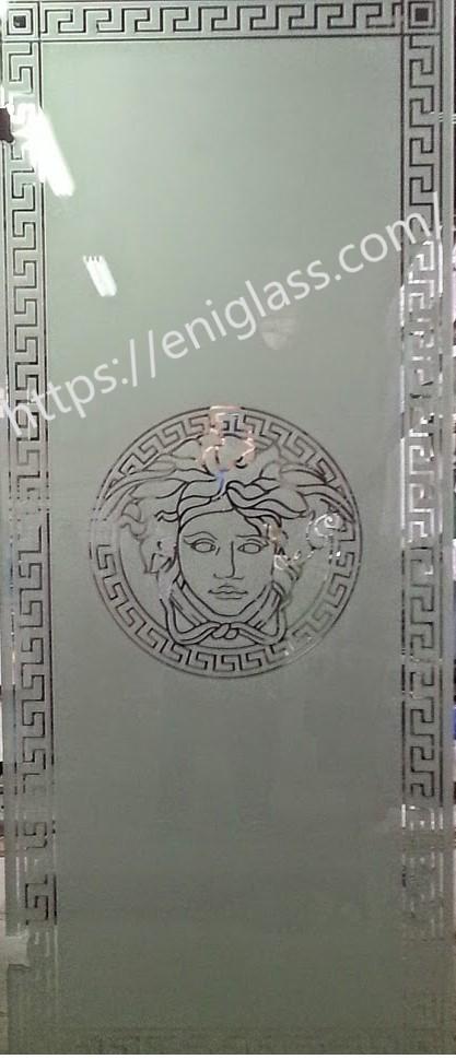 стъкла за стъклена врата VERSACE