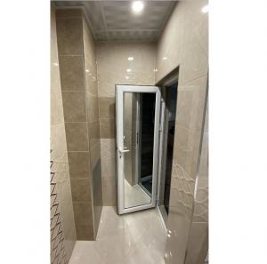 Алуминиева врата за баня с огледало