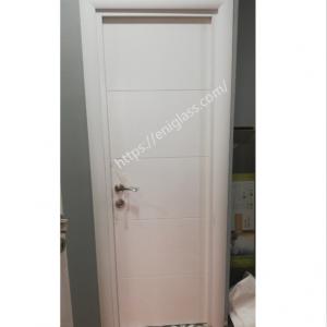 Интериорна врата Турска плътен HDF бяло