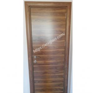 Интериорна врата Турска плътен HDF орех1