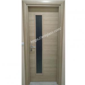 Интериорна врата Турска плътен HDF правоъгълно стъкло