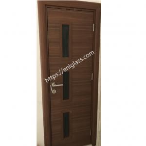 Интериорна врата Турска плътен HDF със стъкла