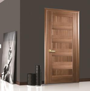 Интериорна врата венге Пиана стъкло плътна