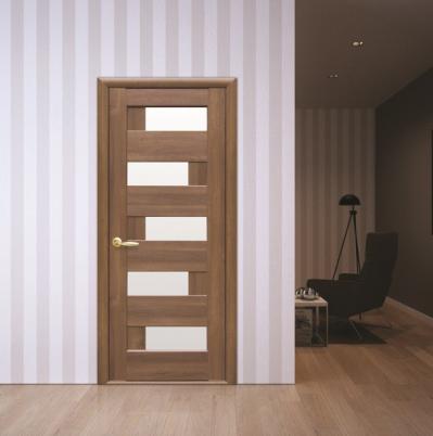 Интериорна врата венге Пиана стъкло