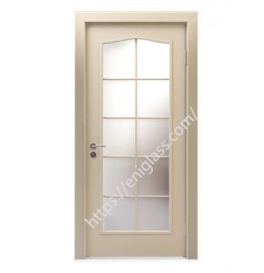 Интериорна врата стъкло мат