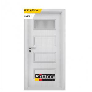 Интериорна врата Gradde Blomendal, модел 1, Сибирска Листвeница