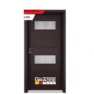 Интериорна врата Gradde Blomendal, модел 2, Орех Рибейра 1