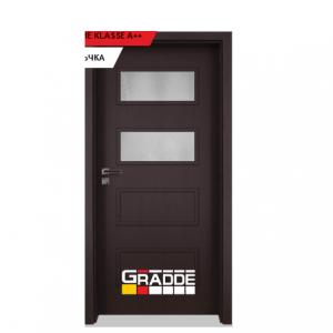 Интериорна врата Gradde Blomendal, модел 3, Орех Рибейра