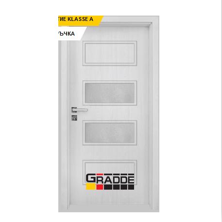 Интериорна врата Gradde Blomendal, модел 4, Сибирска Листвeница 1