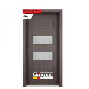 Интериорна врата Gradde Blomendal, модел 4, Череша Сан Диего