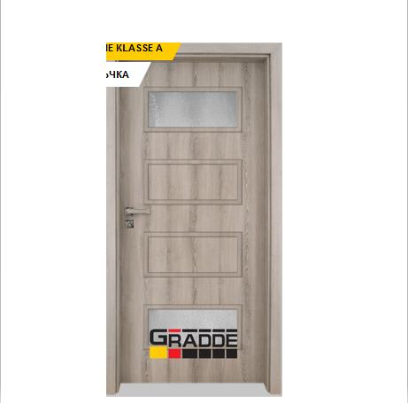 Интериорна врата Gradde Blomendal, модел 5, Ясен Вералинга