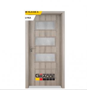 Интериорна врата Gradde Blomendal, модел 6, Ясен Вералинга