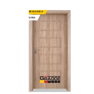 Интериорна врата Gradde Blomendal, модел Full, Дъб Вераде