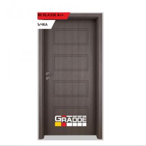 Интериорна врата Gradde Blomendal, модел Full, Череша Сан Диего