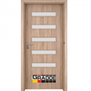 Интериорна врата Gradde Schwerin, Дъб Вераде