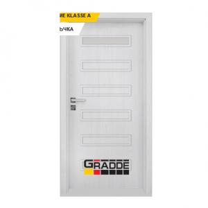 Интериорна врата Gradde Schwerin, модел 1, Сибирска Лиственица