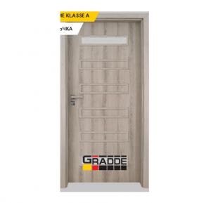 Интериорна врата Gradde Schwerin, модел 1, Ясен Вералинга