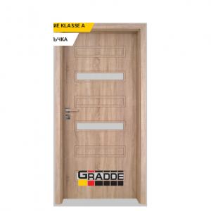 Интериорна врата Gradde Schwerin, модел 10, Дъб Вераде 1