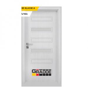 Интериорна врата Gradde Schwerin, модел 10, Сибирска Лиственица