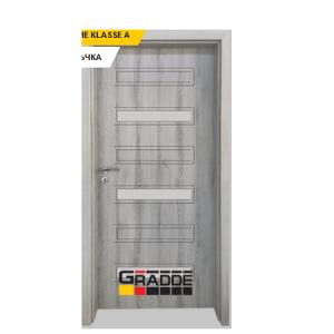 Интериорна врата Gradde Schwerin, модел 10, Ясен Вералинга
