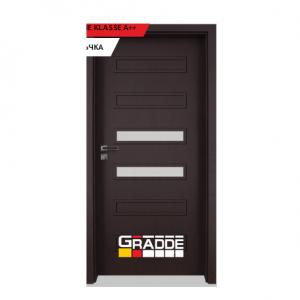 Интериорна врата Gradde Schwerin, модел 3, Орех Рибейра