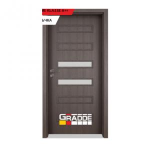 Интериорна врата Gradde Schwerin, модел 3, Череша Сан Диего