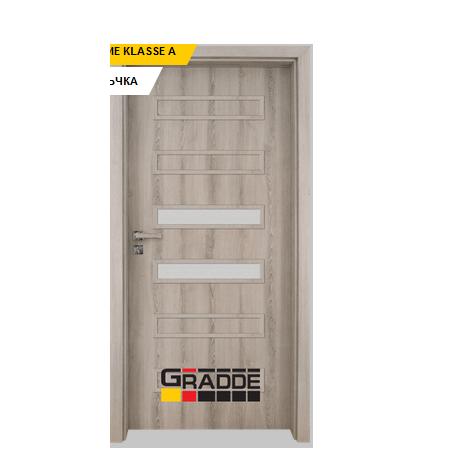 Интериорна врата Gradde Schwerin, модел 3, Ясен Вералинга