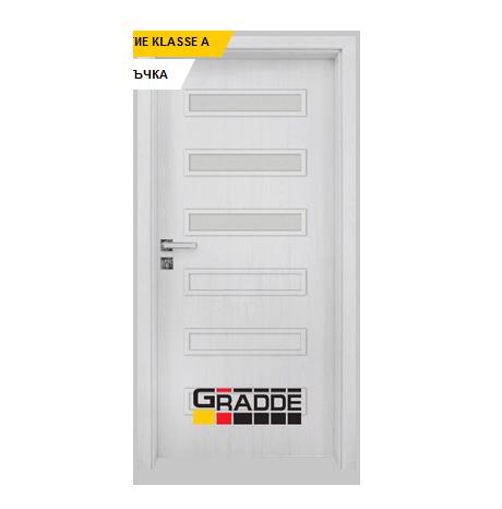 Интериорна врата Gradde Schwerin, модел 4, Сибирска Лиственица