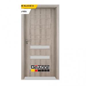 Интериорна врата Gradde Schwerin, модел 5, Ясен Вералинга