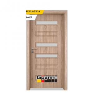 Интериорна врата Gradde Schwerin, модел 6, Дъб Вераде