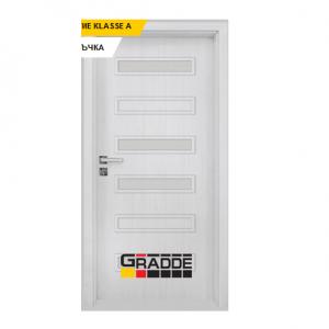 Интериорна врата Gradde Schwerin, модел 6, Сибирска Лиственица
