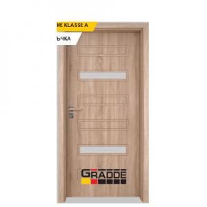 Интериорна врата Gradde Schwerin, модел 7, Дъб Вераде