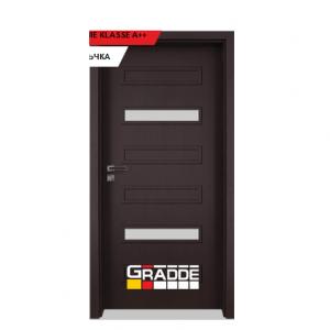 Интериорна врата Gradde Schwerin, модел 7, Орех Рибейра