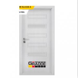 Интериорна врата Gradde Schwerin, модел 7, Сибирска Лиственица
