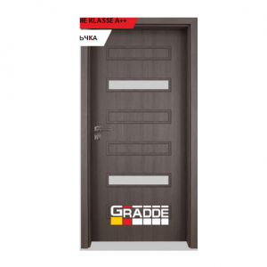 Интериорна врата Gradde Schwerin, модел 7, Череша Сан Диего