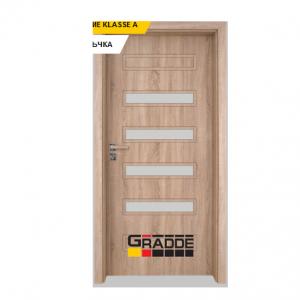 Интериорна врата Gradde Schwerin, модел 8, Дъб Вераде