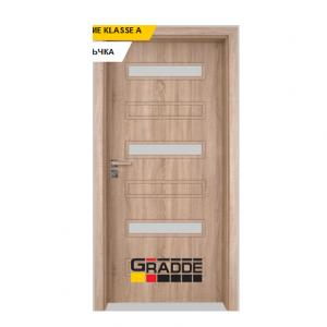 Интериорна врата Gradde Schwerin, модел 9, Дъб Вераде