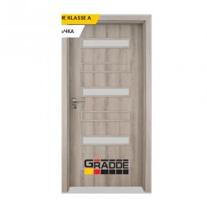 Интериорна врата Gradde Schwerin, модел 9, Ясен Вералинга