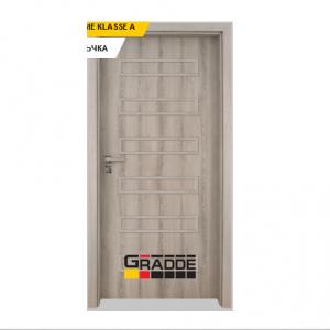 Интериорна врата Gradde Schwerin, модел Full, Ясен Вералинга